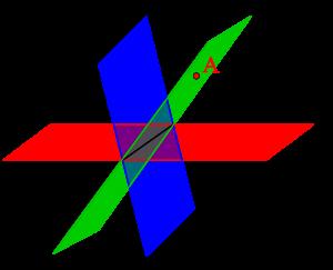 空間ベクトルと二つの平面-03