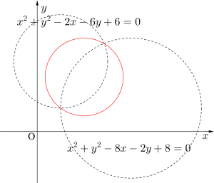 円の方程式の決定-04