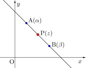 2点を通る直線の方程式
