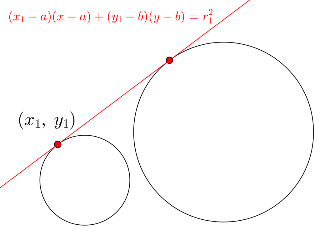 二つの円に接する共通接線-02-1
