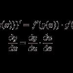 合成関数の導関数(微分)の定義-i