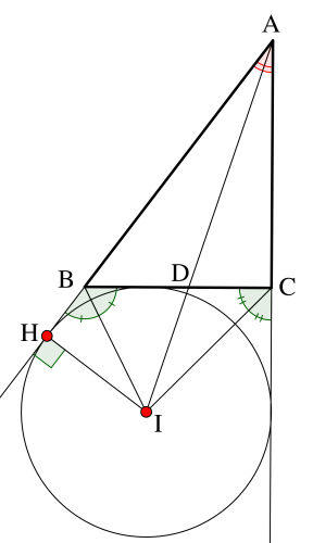 傍心の位置ベクトル-4