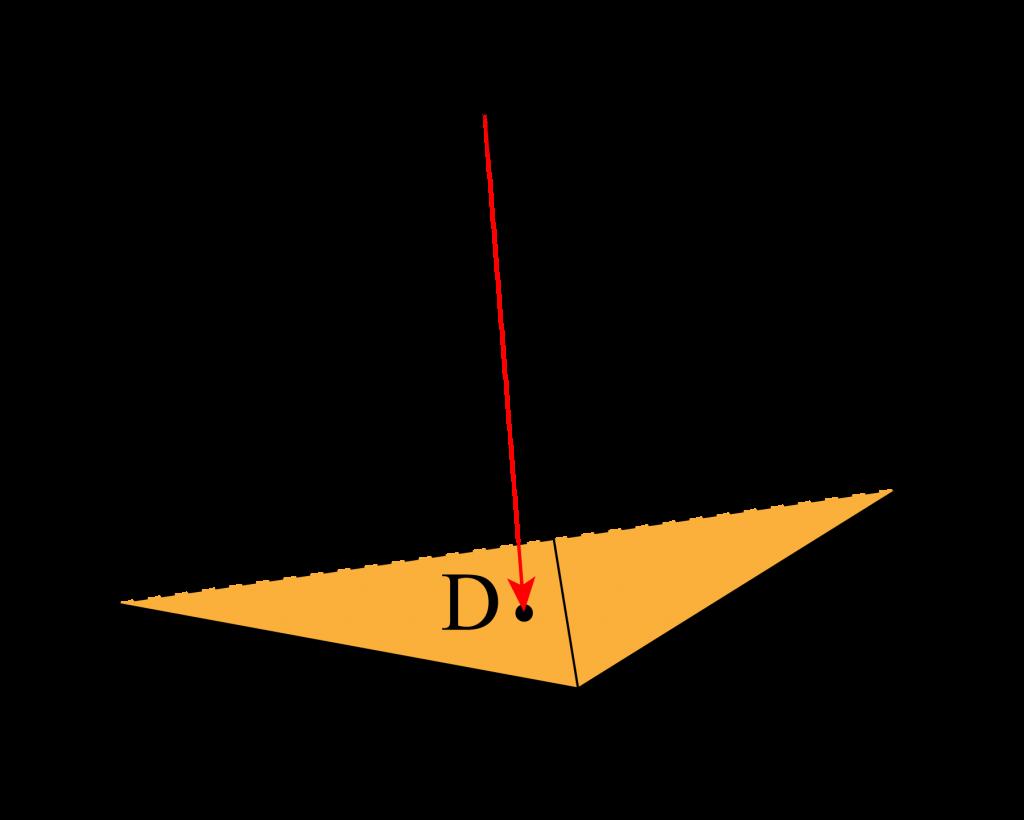 空間ベクトルと同一平面上の点-02
