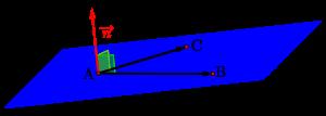 空間ベクトルと平面の方程式-04