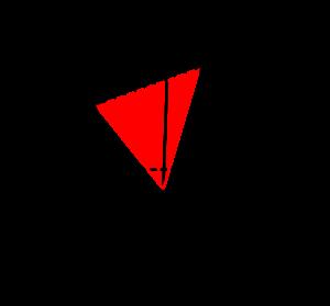 空間ベクトルと三角形の面積-01