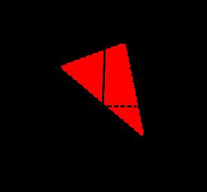 空間ベクトルと三角形の面積-02