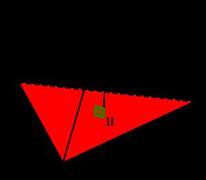 空間ベクトルと四面体の体積(基本)-00