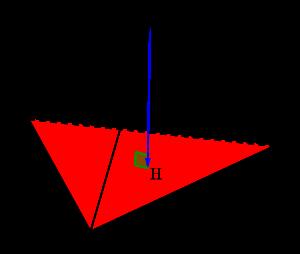空間ベクトルと四面体の体積(基本)-03