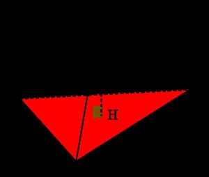 空間ベクトルを利用した四面体の体積の求め方(成分表示)-01