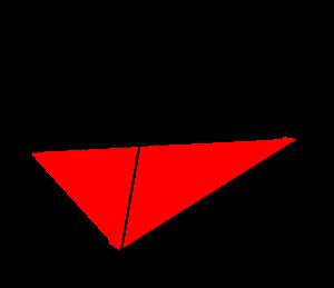 空間ベクトルを利用した四面体の体積の求め方(成分表示)-02