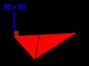 空間ベクトルを利用した四面体の体積の求め方(成分表示)-05