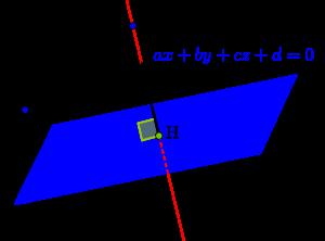 直線と平面の交点の求め方-04