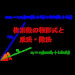 複素数の極形式と乗法・除法-i