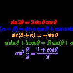 三角関数公式まとめ-i