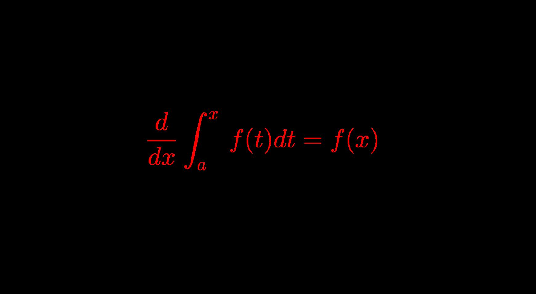 積分区間に変数を含んだ定積分で表された関数とその解き方