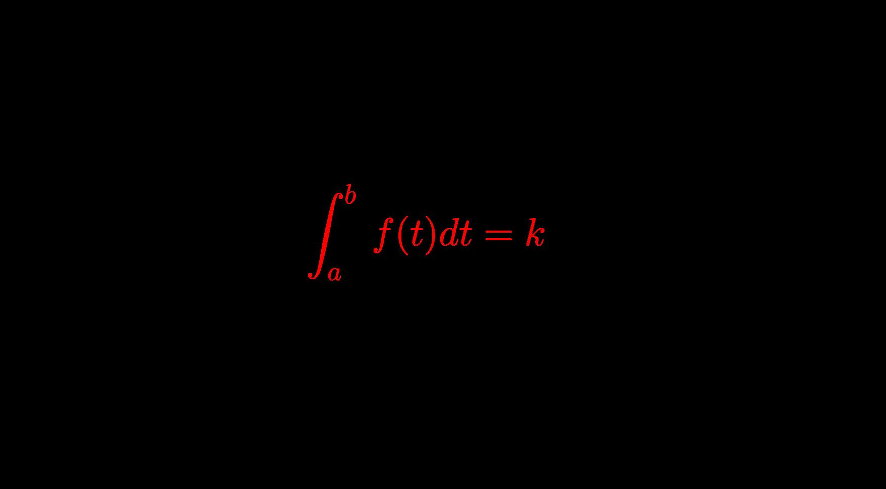 積分区間が定数の定積分で表された関数とその解き方